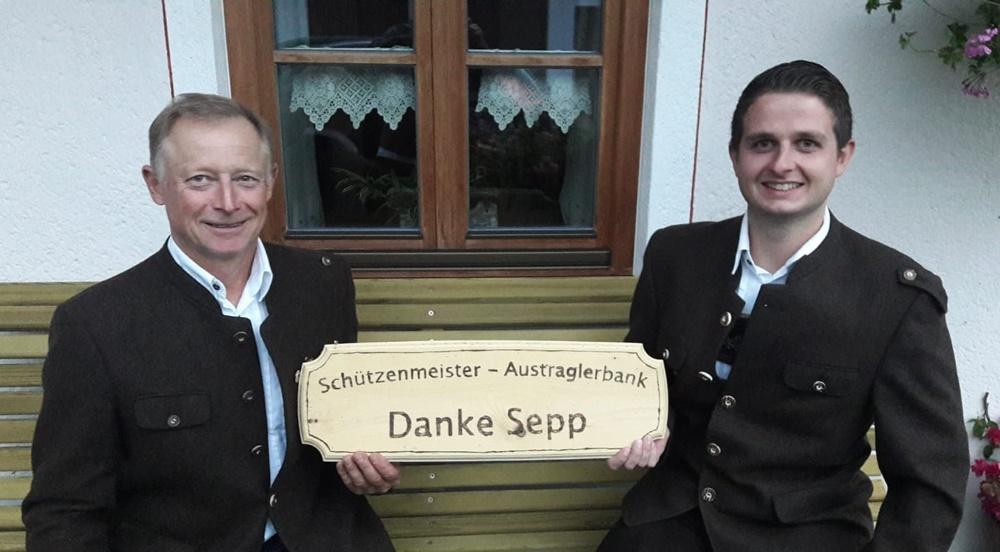 Sepp Bernauer und Bernhard Hausperger